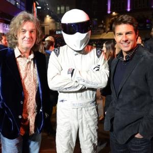 Tom Cruise James May and Ben Collins at event of Dzekas Ryceris 2012