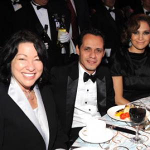 Jennifer Lopez, Marc Anthony, Sonia Sotomayor