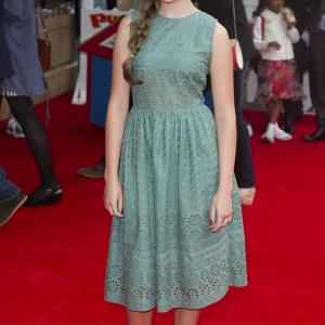 Izzy at Pudsey Premiere Leicester Square