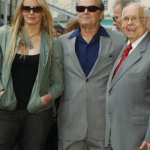 Jack Nicholson Daryl Hannah and Johnny Grant