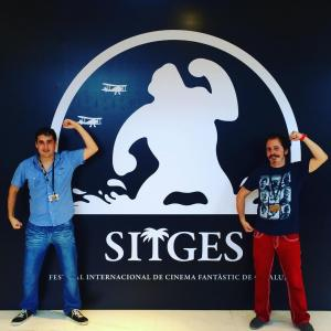 Isaac Ezban at the European premiere of his second feature film THE SIMILARS at Sitges 2015 (Catalunya, Oct 2015)