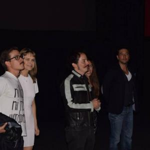 Red carpet and premiere of THE INCIDENT in Mexico (Sept 2015)