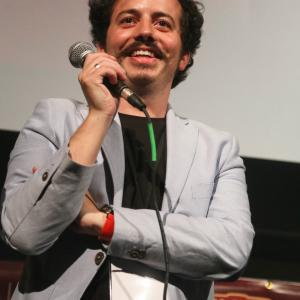 Isaac Ezban at the world premiere of his second feature film THE SIMILARS at Fantastic Fest 2015 (Austin, Texas, Sept 2015)