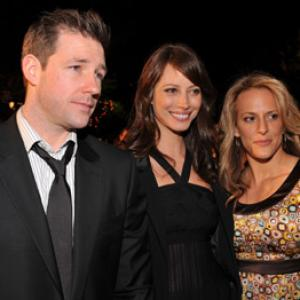 Edward Burns, Anne Fletcher and Christy Turlington at event of 27 Dresses (2008)