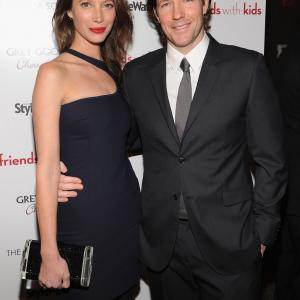 Edward Burns and Christy Turlington at event of Friends with Kids (2011)
