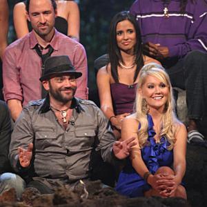 Still of Russell Hantz Natalie White and Mick Trimming in Survivor 2000