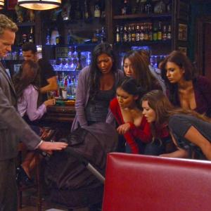 Screen cap from How I Met Your Mothers Who Wants To Be A Godparent? Season 8 Eps 4