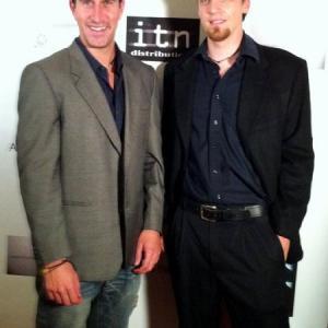 Adam William Ward and Justin Zagri at Sundance