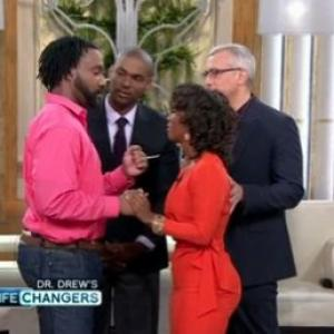 Crazy Brah faces off with Deena Jacobs alongside Paul Carrick Brunson and Dr Drew on Im Black and I Refuse to Date My Race