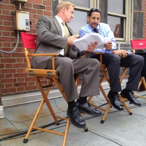 Learning a new scene that was written on set! (2014)
