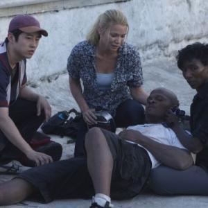 The Walking Dead Glenn Steven Yuen Andrea Laurie Holden TDog IronE Singleton and Jacqui Jeryl Prescott Sales