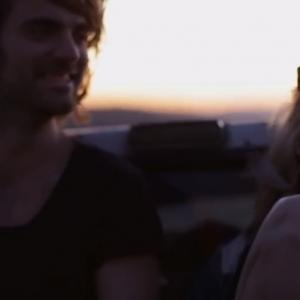Whitney with Filip Bekic from The Royal Concept in