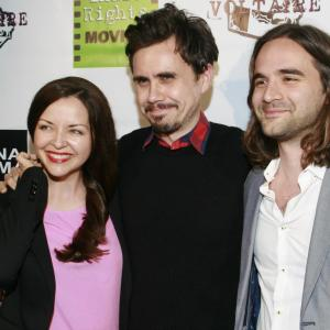 Erik Peter Carlson with Nick Frangione and Monika Carlson at the 'Roxie' Premiere in Hollywood.