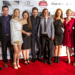 'The Toy Soldiers' at The Hollywood Film Festival - Arclight Theater - October 2014 w/ cast.