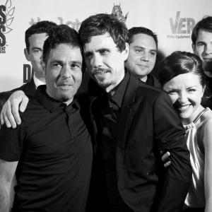 'The Toy Soldiers' World Premiere at Dances With Films - Hollywood's Chinese Theatres - June 2014. With Kevin Pinassi and cast.