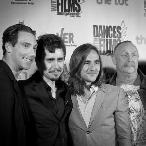 'The Toy Soldiers' World Premiere at Dances With Films - Hollywood's Chinese Theatres - June 2014. With Nick Frangione, Al Burke and Craig Bruss.
