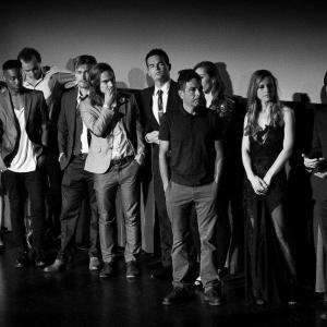 'The Toy Soldiers' World Premiere at Dances With Films Q & A - Hollywood's Chinese Theatres - June 2014. With cast.