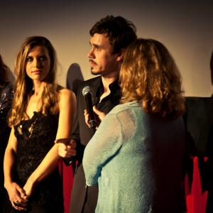 'The Toy Soldiers' World Premiere at Dances With Films Q & A - Hollywood's Chinese Theatres - June 2014. With Jeanette May Steiner.