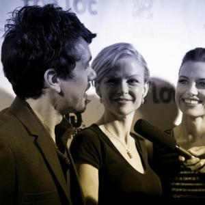 'The Toy Soldiers' World Premiere Press Party at Hollywood's Chinese Theatres - May 2014. With Constance Brenneman, Jeanette May Steiner.