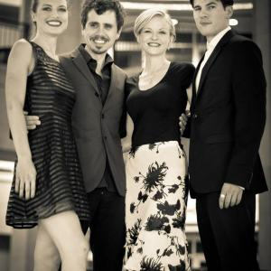 'The Toy Soldiers' World Premiere Press Party at Hollywood's Chinese Theatres - May 2014. With Constance Brenneman, Jeanette May Steiner, Chandler Rylko.