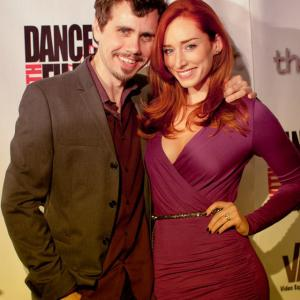 'The Toy Soldiers' World Premiere Press Party at Hollywood's Chinese Theatres - May 2014. With Najarra Townsend.