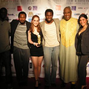Pan African Film Festival 2010 red carpet
