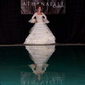 Clotilde Delavennat Nathanaelle Couture fashion show at Sky Bar, Mondrian Hotel