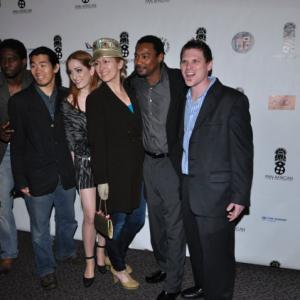 Pan African Film Festival 2010 opening night, cast and crew of movie