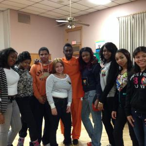 Holmes Hope Project- Performing monologues to empower our youth.