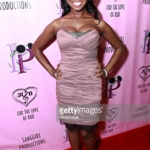 Melissa Grimmond arrive to Kelly Price For the Love of RB event