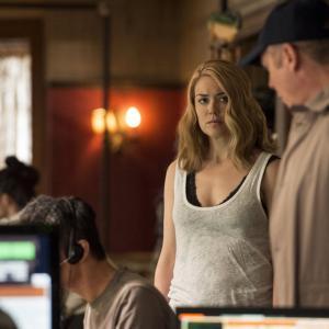 Still of James Spader and Megan Boone in The Blacklist (2013)