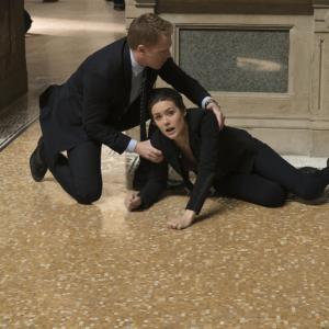 Still of Megan Boone and Diego Klattenhoff in The Blacklist (2013)