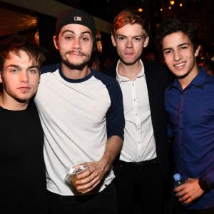 Thomas Brodie-Sangster, Aramis Knight, Dylan Sprayberry, Dylan O
