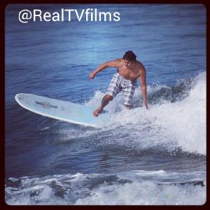 Gordon Vasquez Surfing