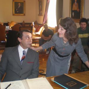 Esther Regina actress in El Cnsul de Sodoma by Sigfrid Monlen with Jordi MOll
