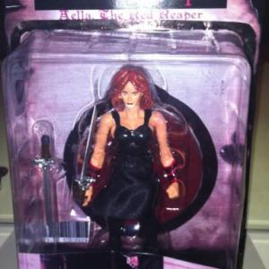 Action figure for Tara Cardinals title character in Legend of the Red Reaper Limited Edition