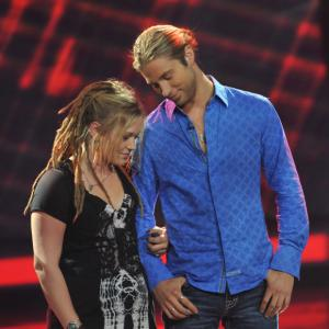 Still of Casey James and Crystal Bowersox in American Idol: The Search for a Superstar (2002)