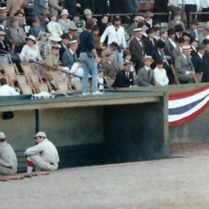 Another shot taken on the set of Eight Men Out