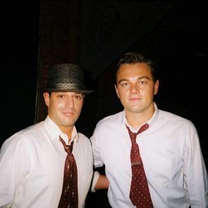 David Gere with Leonardo DiCaprio  Revolutionary Road 2008