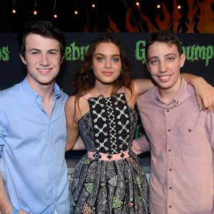 Andrew Goodman, Dylan Minnette, Ryan Lee, Odeya Rush