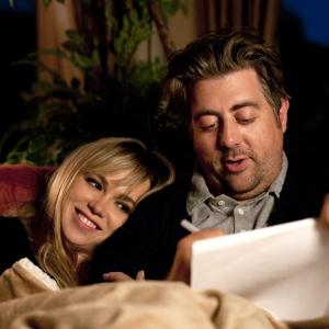 Still of Amanda Fuller and Eric Petersen in The Brittany Murphy Story (2014)