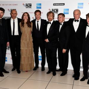 Charles Dance, Matthew Beard, Keira Knightley, Mark Strong, Morten Tyldum, Benedict Cumberbatch, Allen Leech, Alex Lawther