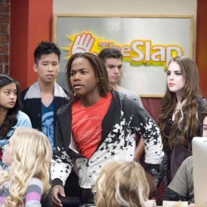Still of Leon Thomas III Elizabeth Gillies and Jared Eng in Victorious 2010