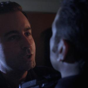 Still of Dylan Kamm and Eric Sharp from Dangerous Games