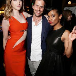 Christian Oliver, Freema Agyeman and Jamie Clayton at event of Sense8 (2015)