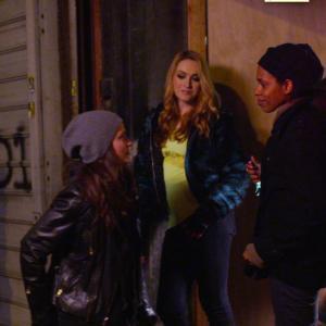 Kelly Sebastian, Alisha B Woods, Jamie Clayton, and Lauren Augarten in Scissr (2014)