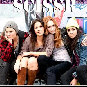 Kelly Sebastian, Jamie Clayton, Lauren Augarten and Paulina Singer in Scissr (2014)