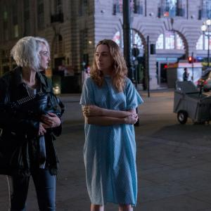 Still of Tuppence Middleton and Jamie Clayton in Sense8 (2015)