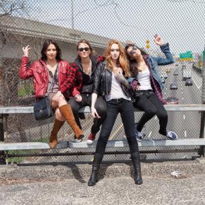 Jamie Clayton, Lauren Augarten, Kelly Sebastian, Paulina Singer in Scissr (2014)