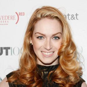 Jamie Clayton at OUT100 party